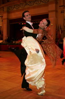 Mark Elsbury & Olga Elsbury at Blackpool Dance Festival 2005