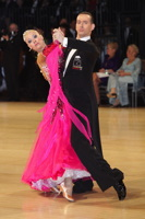 Mark Elsbury & Olga Elsbury at UK Open 2013
