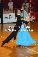 Mark Elsbury & Olga Elsbury at Slovenian Open 2004