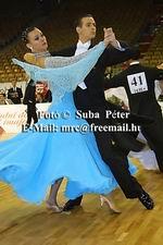 Mark Elsbury & Olga Elsbury at IDSF European Standard Championships 2004