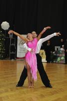 Andrea Silvestri & Martina Váradi at Hungarian Dancesport Championships