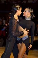 Andrea Silvestri & Martina Váradi at Agria IDSF Open 2006