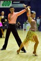 Andrea Silvestri & Martina Váradi at XVII. ÁFÉSZ-KER COOP Matyóföld Cup, Hungarian Ranking