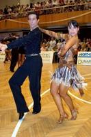 Andrea Silvestri & Martina Váradi at IV. Csepel Cup Hungarian Latin Ranking