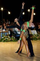 Andrea Silvestri & Martina Váradi at 6th Tisza-Part Open