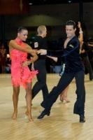 Andrea Silvestri & Martina Váradi at UK Open 2008