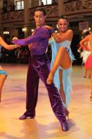 Andrea Silvestri &amp; Martina Vradi at Blackpool Dance Festival 2010