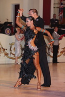 Niels Didden & Gwyneth Van Rijn at Blackpool Dance Festival 2012