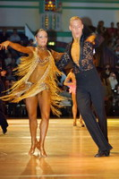 Niels Didden & Gwyneth Van Rijn at Dutch Open 2006