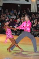 Niels Didden &amp; Gwyneth Van Rijn at Blackpool Dance Festival 2010