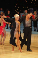 David Byrnes & Karla Gerbes at UK Open 2012