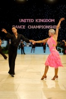 David Byrnes & Karla Gerbes at UK Open 2008