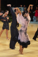 Koji Nishijima & Asumi Nishijima at UK Open 2012
