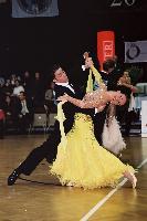 Federico Di Toro & Genny Favero at Austrian Open Championships 2000