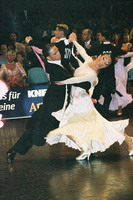 Federico Di Toro & Genny Favero at 15th German Open 2001