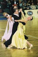 Federico Di Toro & Genny Favero at Austrian Open Championships 2001