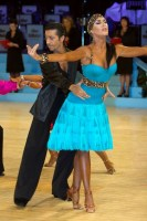 Fabio Modica & Tinna Hoffmann at UK Open 2008