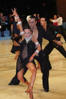 Emanuele Soldi & Elisa Nasato at UK Open 2012