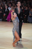 Emanuele Soldi &amp; Elisa Nasato at Blackpool Dance Festival 2012