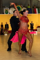 Emanuele Soldi & Elisa Nasato at 4th Tisza Part Open - Hungary 2005