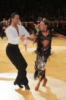 Emanuele Soldi & Elisa Nasato at International Championships 2009