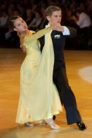 Miles Chapman &amp; Lorna Arnold at The British Closed 2007