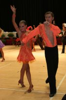 Miles Chapman & Lorna Arnold at International Championships 2008