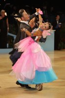 Alex Hou &amp; Melody Hou at UK Open 2011