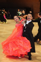 Alex Hou & Melody Hou at UK Open 2012