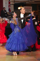 Michael Glikman &amp; Milana Deitch at Blackpool Dance Festival