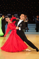 Michael Glikman &amp; Milana Deitch at UK Open 2012