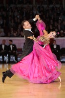 Michael Glikman & Milana Deitch at International Championships 2012