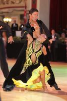Kirill Belorukov & Elvira Skrylnikova at Blackpool Dance Festival