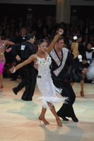 Kirill Belorukov & Elvira Skrylnikova at Blackpool Dance Festival 2012