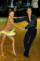 Kirill Belorukov & Elvira Skrylnikova at Dutch Open 2006