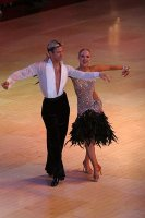 Kirill Belorukov & Elvira Skrylnikova at Blackpool Dance Festival 2009