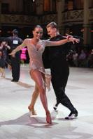 Dominik Rudnicki & Adrianna Lojszczyk at Blackpool Dance Festival 2012