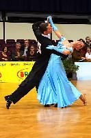 Luca Rossignoli & Veronika Haller at Austrian Open 2004