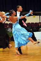 Luca Rossignoli & Veronika Haller at Austrian Open Championships 2004