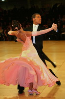 Luca Rossignoli & Veronika Haller at UK Open 2005