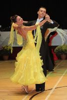 Luca Rossignoli & Veronika Haller at International Championships 2009