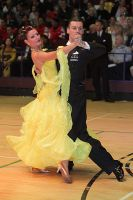 Luca Rossignoli & Veronika Haller at International Championships 2009