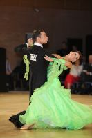 Luca Rossignoli & Veronika Haller at UK Open 2010