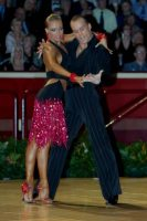 Franco Formica & Oxana Lebedew at The International Championships