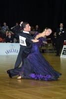 Benedetto Ferruggia & Jana Pokrovskaya at Austrian Open Championships 2002
