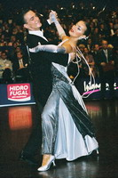 Benedetto Ferruggia & Jana Pokrovskaya at 15th German Open 2001