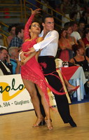 Benedetto Ferruggia & Jana Pokrovskaya at 19th Feinda - Italian Open 2002