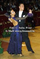 Benedetto Ferruggia & Jana Pokrovskaya at 50th Elsa Wells International Championships 2002