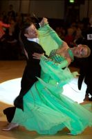 Alexandre Chalkevitch &amp; Larissa Kerbel at WDC World Professional Ballroom Championshps 2007