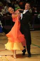 Alexandre Chalkevitch &amp; Larissa Kerbel at International Championships 2008